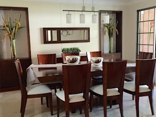 ea interiorismo Classic style dining room Wood Wood effect