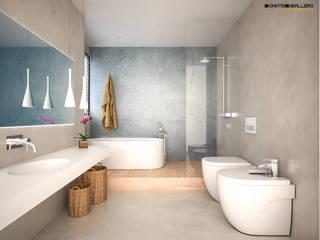 Baño:  de estilo  de DonateCaballero Arquitectos