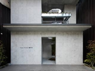 Casa Verde モダンな 家 の 株式会社 藤本高志建築設計事務所 モダン