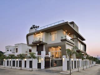 A villa in udaipur --- india Modern Houses by FORM SPACE N DESIGN ARCHITECTS Modern