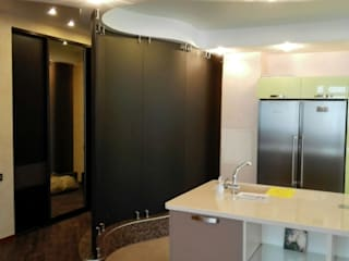 Стеклянная перегородка в квартире Стены и пол в стиле минимализм от Стекло Технологии Москва Минимализм