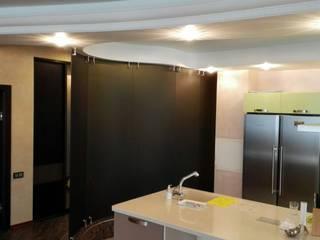 Стеклянная перегородка в квартире : Стены в . Автор – Стекло Технологии Москва