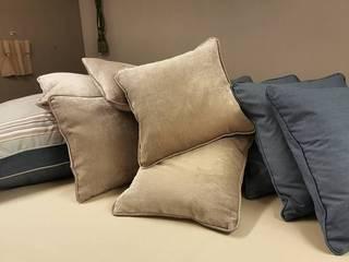 Cushions: modern  by Grey Soft Furnishings, Modern
