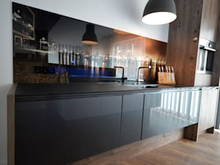 Cocina de estilo  por Glascouture by Schenk Glasdesign