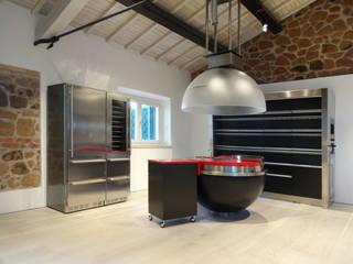 Cocinas de estilo industrial de CAFElab studio Industrial