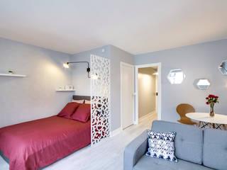 Salon/ Chambre: Chambre de style de style Scandinave par Silvia Gianni