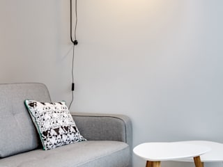 Espace salon: Salon de style de style Scandinave par Silvia Gianni