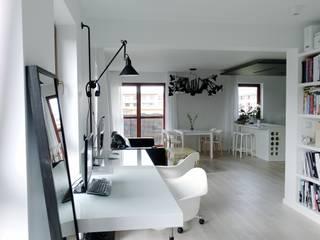 Bureau de style  par MINIMOO Architektura Wnętrz