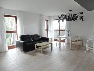 MINIMOO Architektura Wnętrz Salas de estilo minimalista