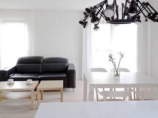 Salle à manger de style  par MINIMOO Architektura Wnętrz