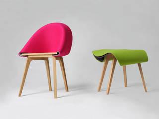 Nuno chair: modern  von Nui Studio,Modern