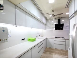 Kitchen 1: modern Kitchen by home makers interior designers & decorators pvt. ltd.