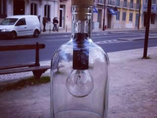 Candeeiro garrafa de tecto:   por 5L.CincoLitros