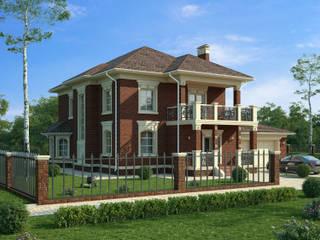 Лион_302 кв.м.: Загородные дома в . Автор – Vesco Construction