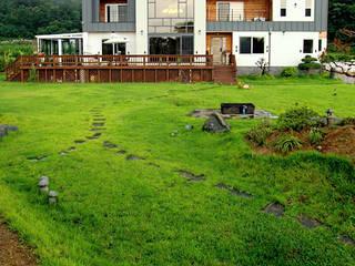 Casas de estilo  por 엔디하임 - ndhaim, Moderno