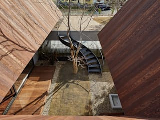 SHIMA モダンな庭 の 武藤圭太郎建築設計事務所 モダン