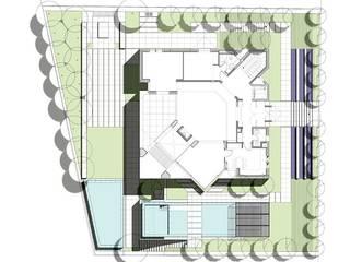Persischer Garten im mittlerer Osten - Kaspisches Meer: modern  von Ecologic City Garden - Paul Marie Creation,Modern