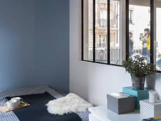 37m2 repensé comme un mini loft: Chambre de style  par Alguma Coisa Design