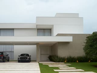 RESIDÊNCIA NS Casas modernas por F:POLES ARQUITETOS ASSOCIADOS Moderno