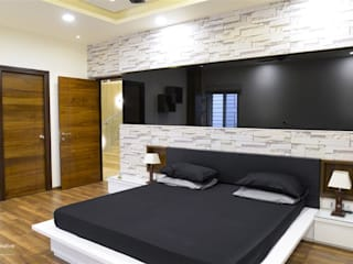 Childern's Bed Room:  Bedroom by KREATIVE HOUSE
