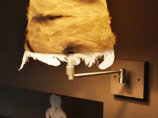 Luminaires plume par ATELIER D'ABAT-JOUR Catherine Balhan Moderne