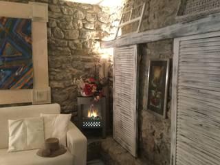 Studio la Piramide Architettura e Urbanistica Mediterranean style living room