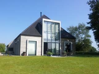 woonboerderij architectuur Dick de Jong Interieurarchitekt Moderne huizen