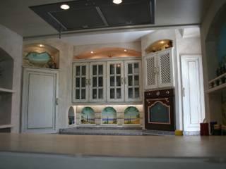 Cocinas de estilo  por Villa Medici - Landhauskuechen aus Aschheim