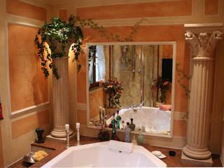 Mediterranean style bathroom by Villa Medici - Landhauskuechen aus Aschheim Mediterranean