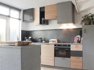 Studio Martijn Westphal Cucina moderna Legno