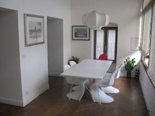 Appartamento privato Sala da pranzo minimalista di Studio DeGli Architetti G. De Angelis - F. Glionna Minimalista