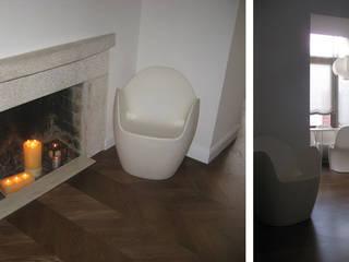 Appartamento privato Soggiorno minimalista di Studio DeGli Architetti G. De Angelis - F. Glionna Minimalista