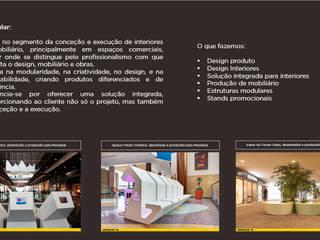 Modern shopping centres by MOODULAR Modern