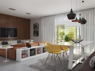 Dining room by Tato Bittencourt Arquitetos Associados