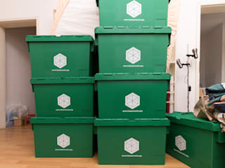 Using Box At Work when moving to Berlin de Pamela Kilcoyne - Homify Moderno