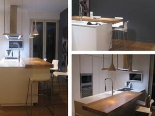 """""""tra i platani"""" Cucina minimalista di Studio DeGli Architetti G. De Angelis - F. Glionna Minimalista"""