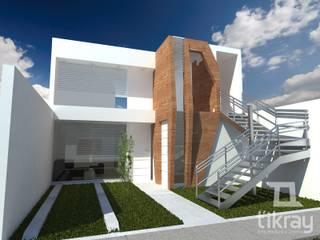 Multifamiliar Vidal: Casas de estilo  por T´ikray