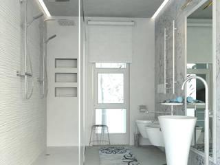 Realizzazioni Modern bathroom by RINNOVIAMO CASA Modern
