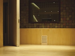 TOKIO ESTUDIO: Oficinas y Tiendas de estilo  por MLL arquitecta,Minimalista
