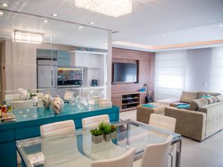 Dining room by Studio Bene Arquitetura,