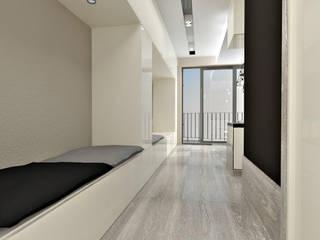 Corridor & hallway by InSign Pracownia Projektowa Karolina Wójcik,