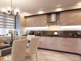 квартира студия  2-этажа: Кухни в . Автор – SKILL