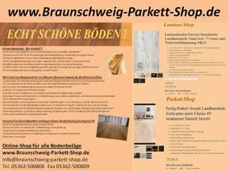 Online-Shop für Bodenbeläge in Braunschweig, Wolfsburg, Gifhorn, Salzgitter, Wolfenbüttel und Peine Mediterrane Wohnzimmer von Braunschweig Parkett Shop Mediterran
