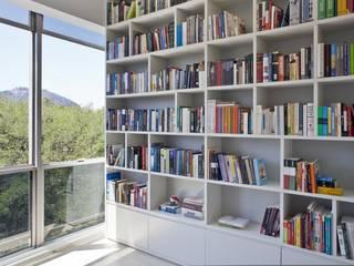 Pipa Arquitetura Ruang Studi/Kantor Klasik