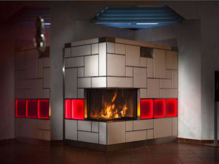 Salas de estilo ecléctico de Zerresquadrat GmbH Ecléctico
