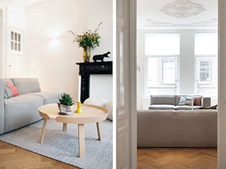 Salon scandinave par Interieur Design by Nicole & Fleur Scandinave
