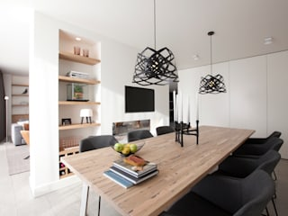 Modern dining room by Interieur Design by Nicole & Fleur Modern
