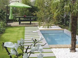 HOME STAGING EXTÉRIEUR OU L'ART DE BIEN VENDRE SON BIEN IMMOBILIER Jardin moderne par SEVEN GARDEN Moderne