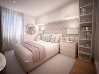 Andreia Louraço - Designer de Interiores (Email: andreialouraco@gmail.com) Cuartos de estilo moderno Beige