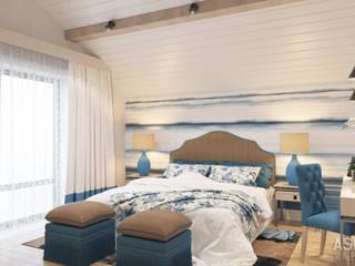 ausgefallene Schlafzimmer von Студия авторского дизайна ASHE Home
